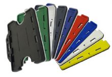 DOUBLE SIDED RIGID ID CARD HOLDERS